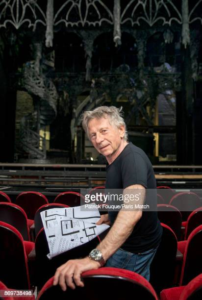 Film director Roman Polanski is photographed for Paris Match on September 5 2014 in Paris France