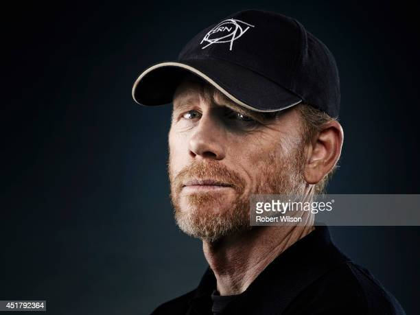 Film director Ron Howard is photographed for the Times on July 1 2013 in London England