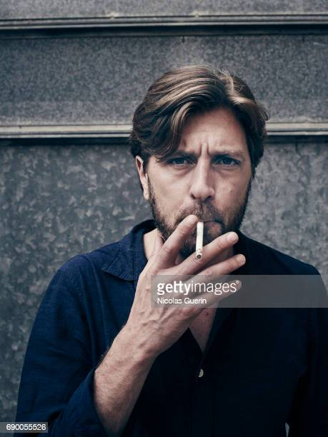 Film director Ruben Ostlund is photographed on May 23 2017 in Cannes France