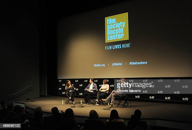 Film Director Ryan Fleck film director Anna Boden and actor Ryan Reynolds attend The Film Society Of Lincoln Center Sneak Previews 'Mississippi...
