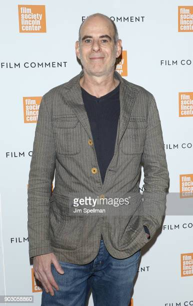 Film director Samuel Maoz attends the 2018 Film Society of Lincoln Center and Film Comment luncheon at Lincoln Ristorante on January 9 2018 in New...