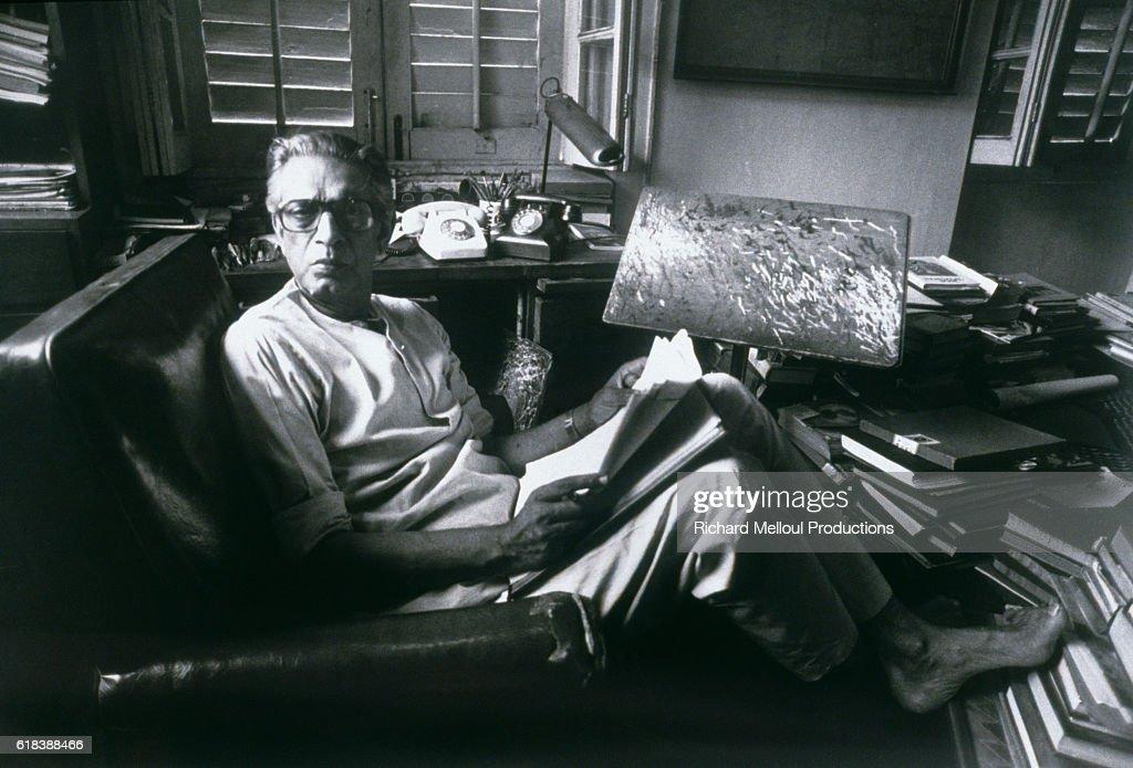 Film Director Satyajit Ray : Photo d'actualité