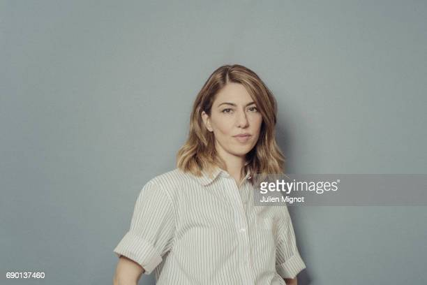 Film director Sofia Coppola is photographed for Grazia magazine on May 24 2017 in Cannes France