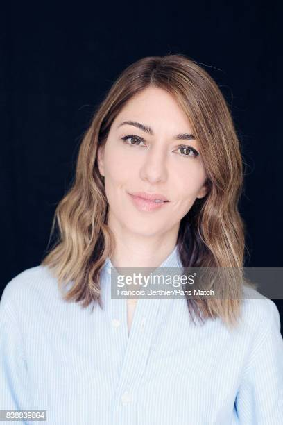 Film director Sofia Coppola is photographed for Paris Match on June 30 2017 in Paris France