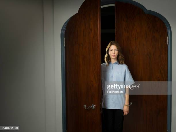 Film director Sofia Coppola is photographed for the Observer on June 28 2017 in London England