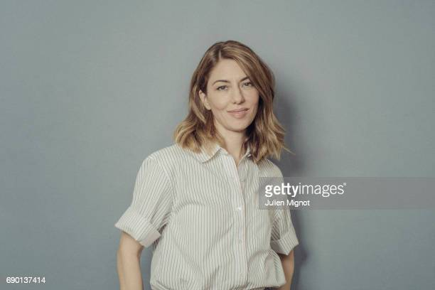 Film director Sofia Coppola is photographed on May 24 2017 in Cannes France