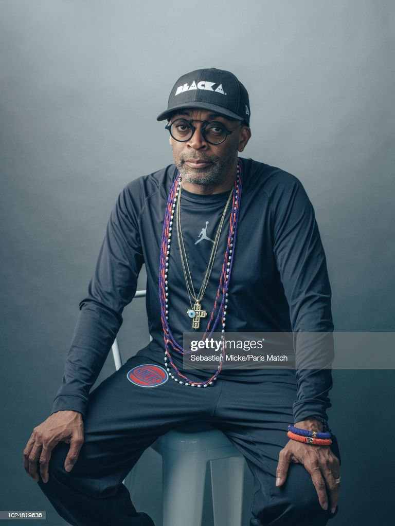Spike Lee, Paris Match Issue 3615, August 29, 2018