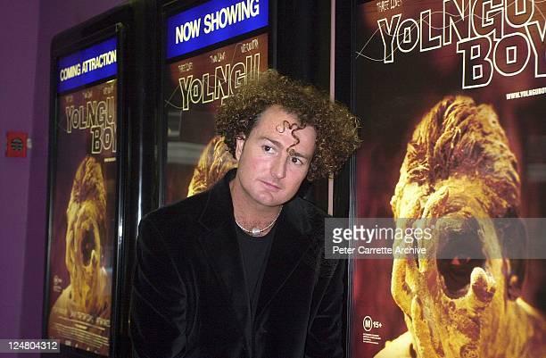 Film director Stephen Johnson arrive for the premiere of the film 'Yolngu Boy' in Paddington on March 16, 2001 in Sydney, Australia.