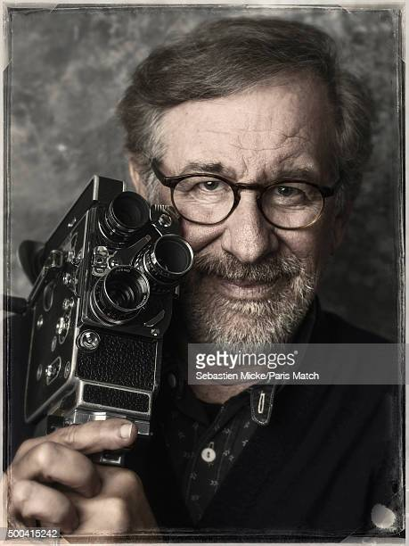 Film director Steven Spielberg is photographed for Paris Match on September 29 2015 in New York City