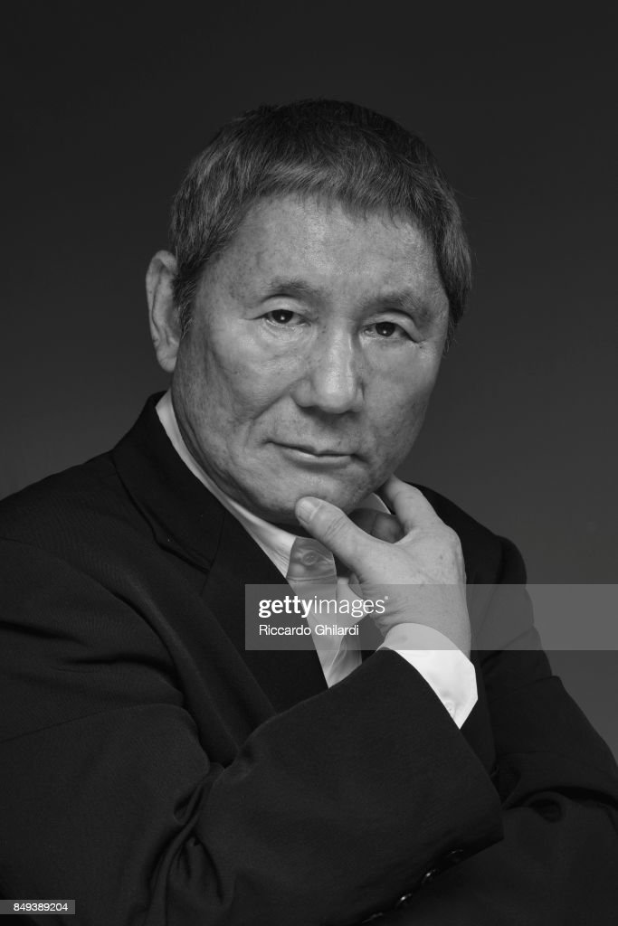 Film director Takeshi Kitano is photographed for Self Assignment on September 8, 2017 in Venice, Italy. (Photo by Riccardo Ghilardi/Contour by Getty Images).