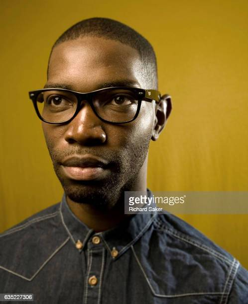 Film director Tarell Alvin McCraney is photographed for the Observer on May 17 2011 in London England