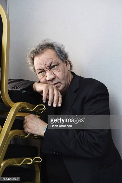 Film director Tony Gatlif is photographed on May 26, 2017 in Cannes, France.