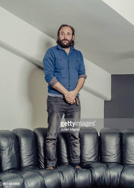 Film director Vincent Macaigne is photographed on May 24 2017 in Cannes France