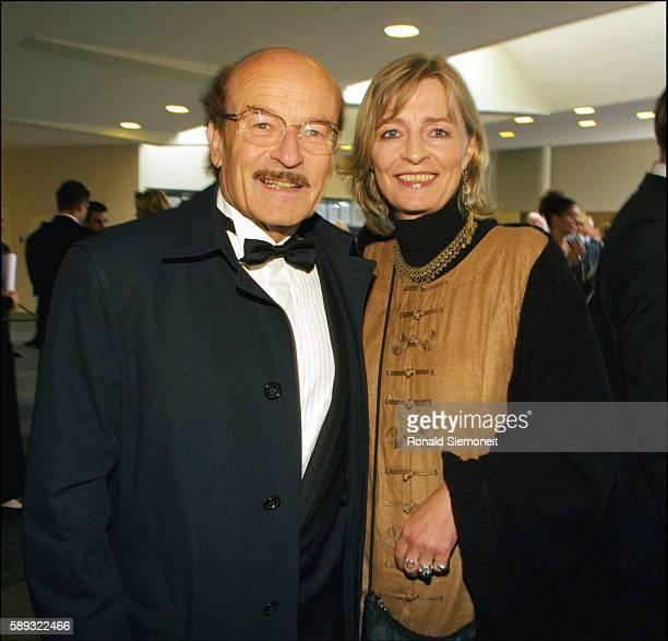 Film director Volker Schloendorff with his wife Angelika