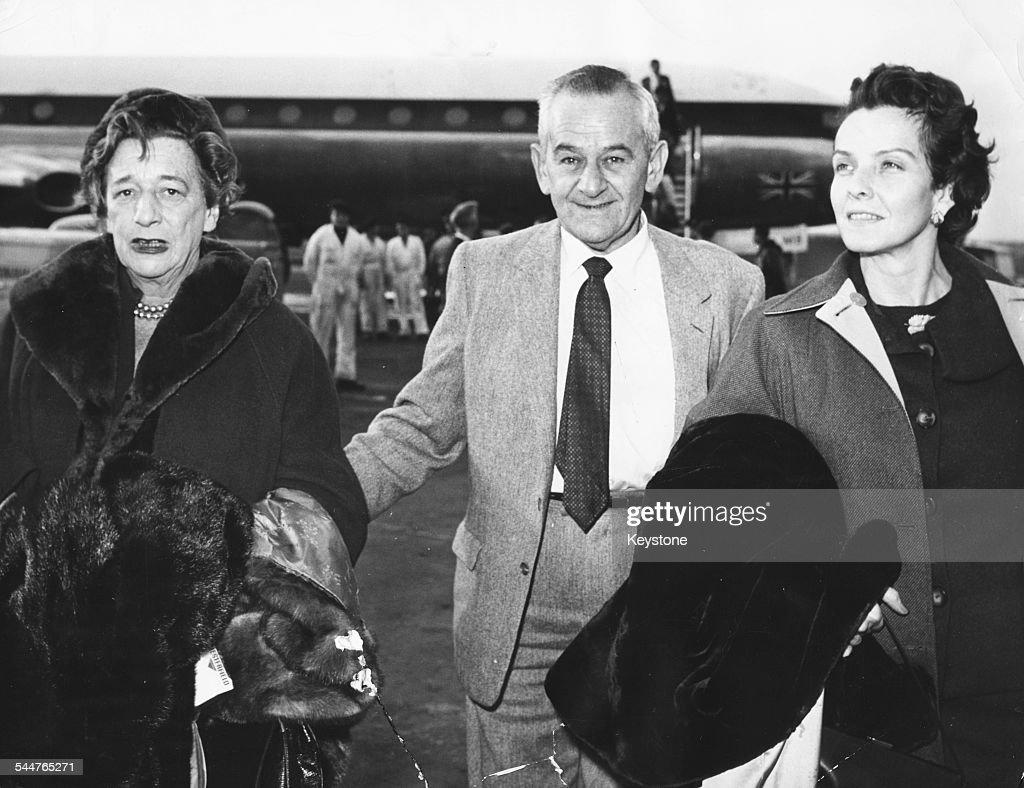 William Wyler And Alman Liazian : News Photo