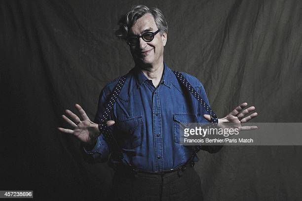 Film director Wim Wenders is photographed for Paris Match on May 20, 2014 in Cannes, France.