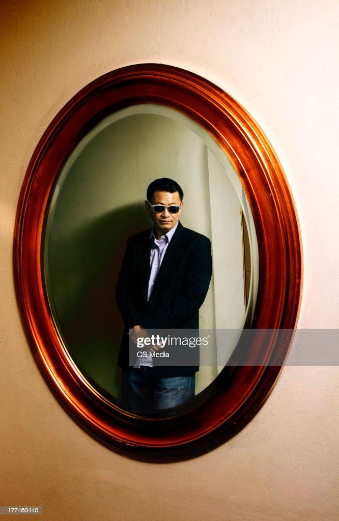 Wong Kar Wai, Portrait shoot, September 6, 2008