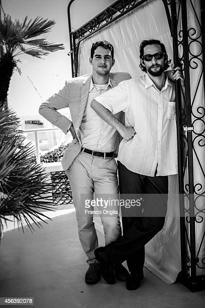 Film directors Ben Safdie and Joshua Safdie are photographed on September 1 2014 in Venice Italy