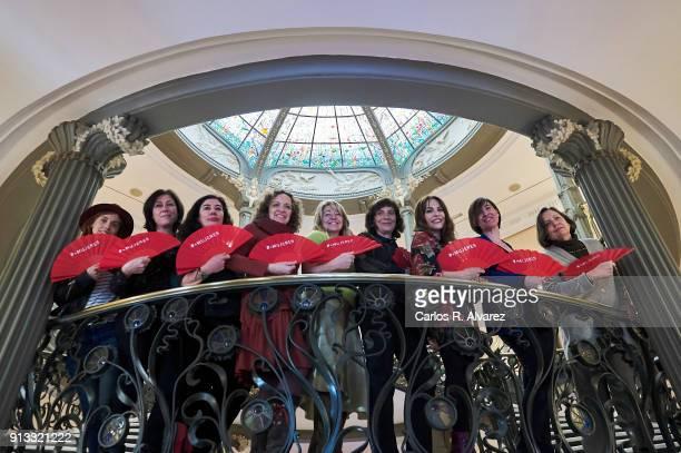 Film directors Leticia Dolera, Belen Macias, Chus Gutierrez, Daniela Fejerman, Ines Paris, Patricia Ferreira, Paula Ortiz, Virginia Yague and...