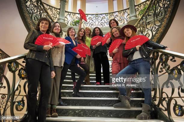 Film directors Patricia Ferreira, Cristina Andreu, Virginia Yague, Paula Ortiz, Ines Paris, Chus Gutierrez, Belen Macias, Daniela Fejerman and...