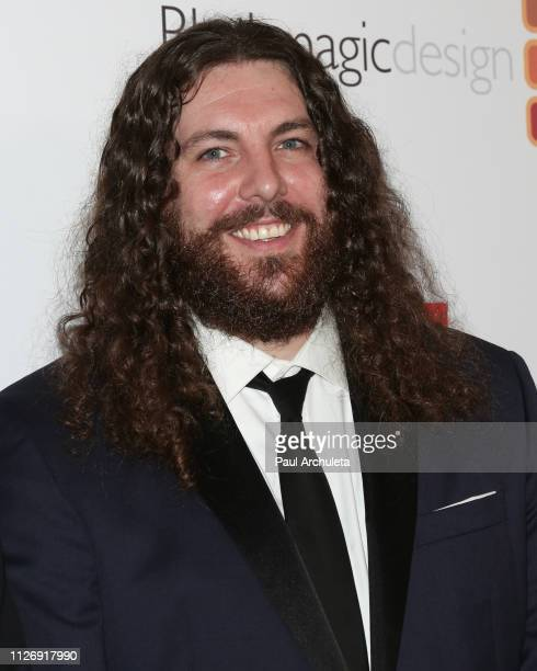 Film Editor Adam Gough attends the 69th annual ACE Eddie Awards at The Beverly Hilton Hotel on February 01, 2019 in Beverly Hills, California.