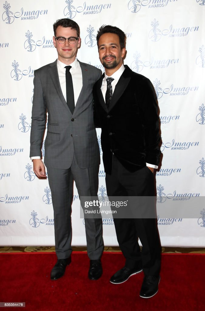 Film editor Alex Horwitz (L) and actor Lin-Manuel Miranda attend the 32nd Annual Imagen Awards at the Beverly Wilshire Four Seasons Hotel on August 18, 2017 in Beverly Hills, California.