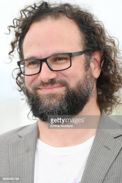 Film editor Julio Perez IV attends the photocall for the Under The Silver Lake during the 71st annual Cannes Film Festival at Palais des Festivals on...