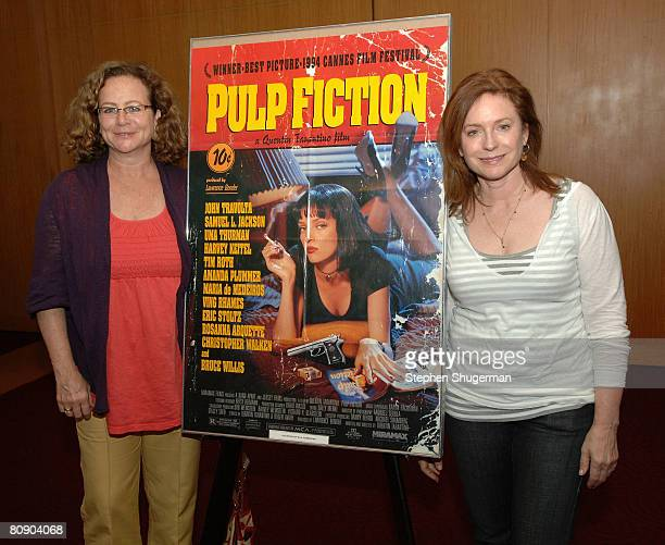 Film Editor Sally Menke and costume designer Betsy Heimann attend AMPAS screening of 'Pulp Fiction' as part of the 'Great To Be Nominated' series at...