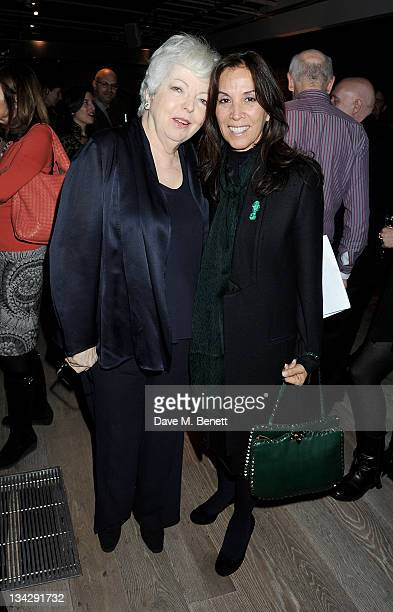 Film editor Thelma Schoonmaker and Olivia Harrison attend a special screening of 'The Life and Death of Colonel Blimp' celebrating the restoration of...