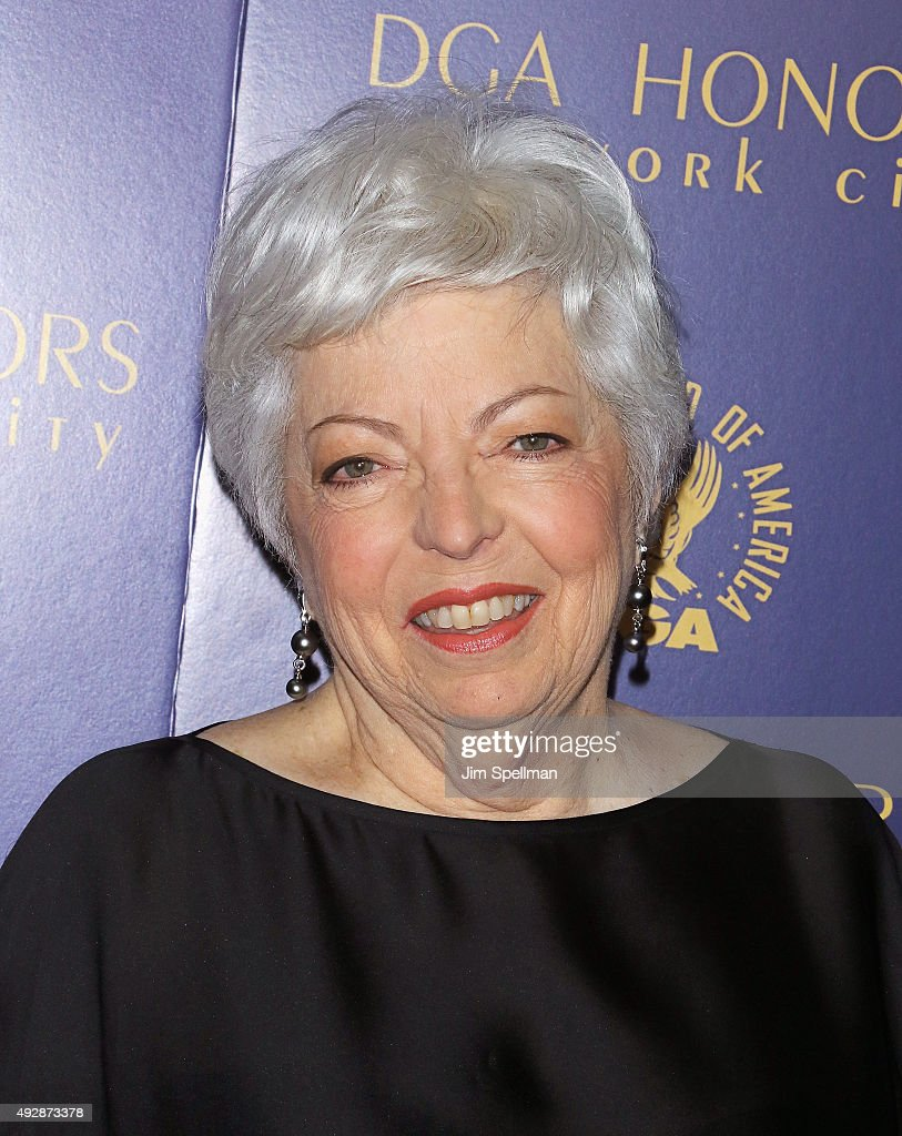 Film Editor Thelma Schoonmaker attends the DGA Honors Gala 2015 at the DGA Theater on October 15, 2015 in New York City.