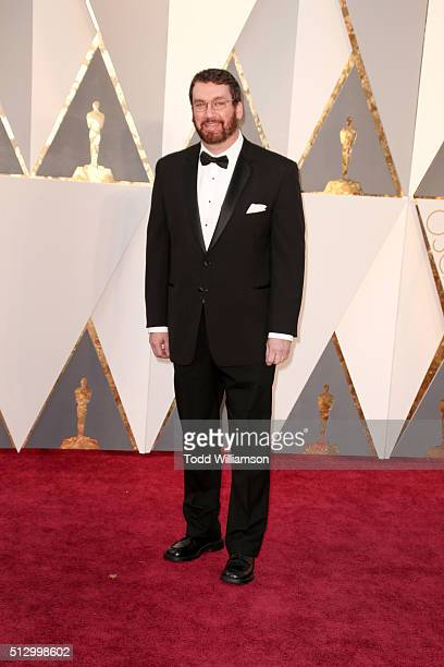 Film editor Tom McArdle attends the 88th Annual Academy Awards at Hollywood Highland Center on February 28 2016 in Hollywood California