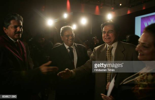 Film Education Anand Mahindra Subhash Ghai Dilip Kumar and Saira Banu on the occasion of its 2nd anniversary Whistling Woods International is proud...