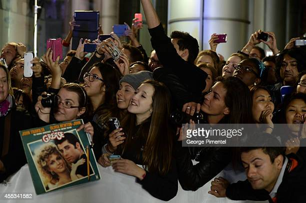 Film fans attend 'The Forger' premiere during the 2014 Toronto International Film Festival at Roy Thomson Hall on September 12 2014 in Toronto Canada