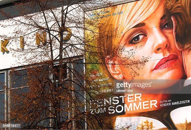 Film Fenster zum Sommer mit Nina Hoss klassische Kinowerbung am Kino International in der KarlMarxAllee