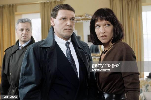 Film, Fernsehen, Kriminalfilm, Serie, 90er / Überschrift: DER ALTE / Deutschland 1991.