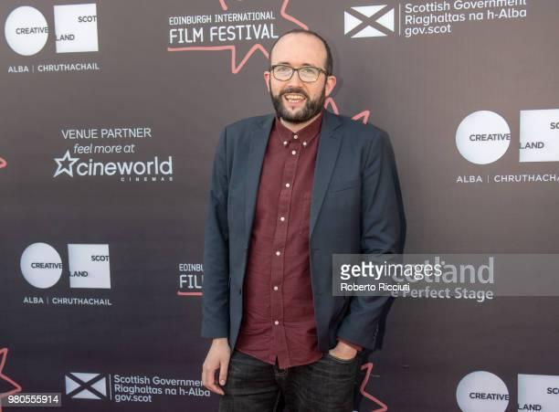 Film Festival director Alejandro Diaz Castano attends a photocall during the 72nd Edinburgh International Film Festival at Cineworld on June 21 2018...