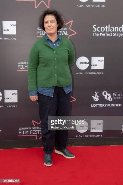 Film Festival director Grainne Humphreys attends a photocall during the 72nd Edinburgh International Film Festival at Cineworld on June 21 2018 in...