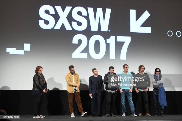 SXSW Film Festival Director Janet Pierson actor/producer Seth Rogen actor Dave Franco actor/director James Franco author Greg Sestero and director...