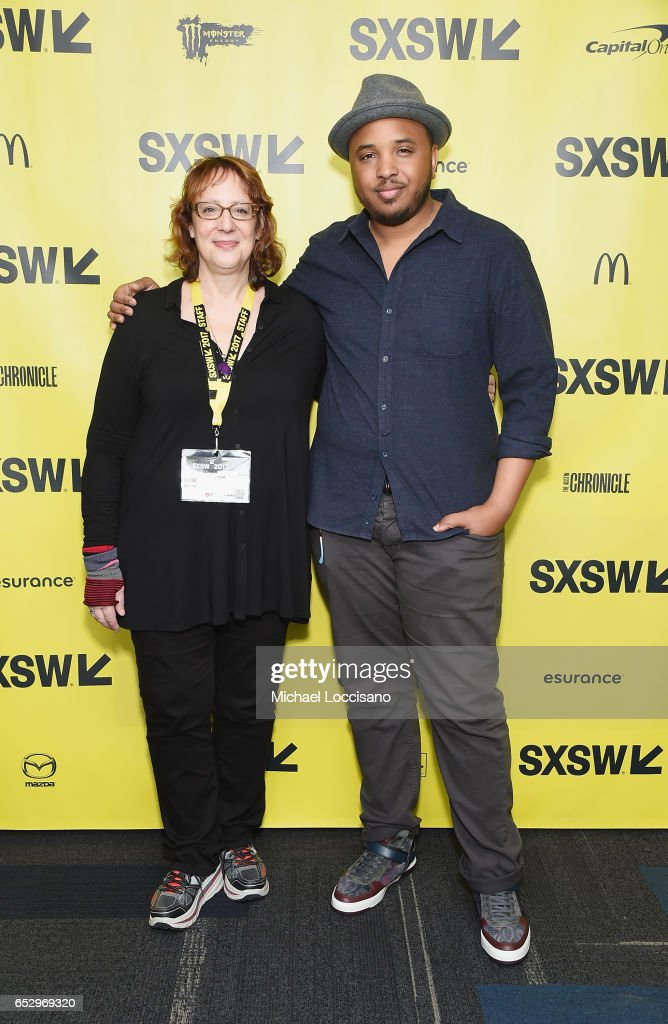 Film Festival Director Janet Pierson and Director Justin Simien attend the 'Dear White People' premiere during 2017 SXSW Conference and Festivals at the ZACH Theatre on March 13, 2017 in Austin, Texas.