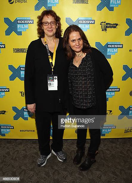 Film Festival Director Janet Pierson and director/producer Elizabeth Giamatti attend the premiere of A Woman Like Me during the 2015 SXSW Music Film...