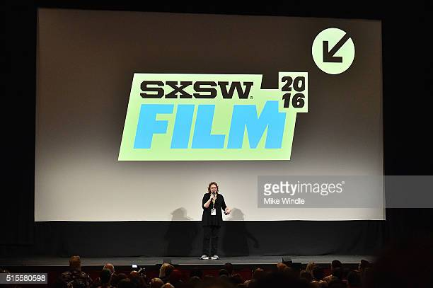 Film Festival Director Janet Pierson attends the screening of Secrets of The Force Awakens A Cinematic Journey during the 2016 SXSW Music Film...