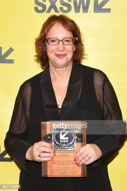Film Festival Director Janet Pierson attends the SXSW Film Awards Show 2018 SXSW Conference and Festivals at Paramount Theatre on March 13 2018 in...
