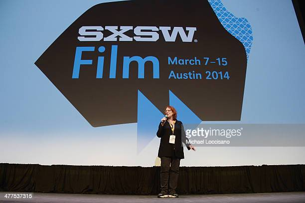 Film Festival Director Janet Pierson takes part in a QA following the Obvious Child Premiere during the 2014 SXSW Music Film Interactive Festival at...