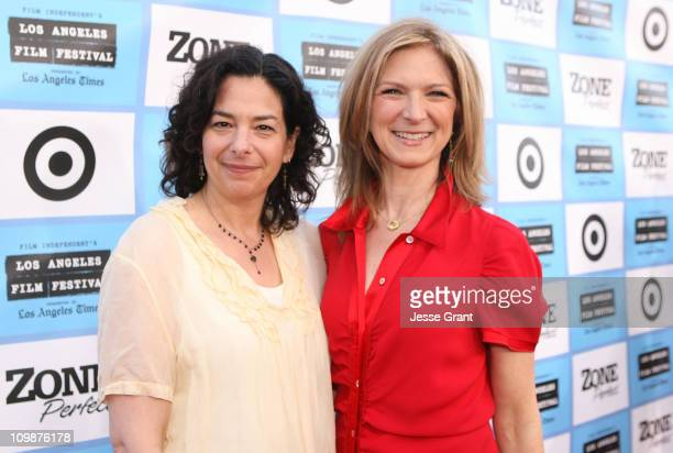 Film Festival Director of Programming Rachel Rosen and Film Independent Executive Director Dawn Hudson arrive at the 2009 Los Angeles Film Festival's...