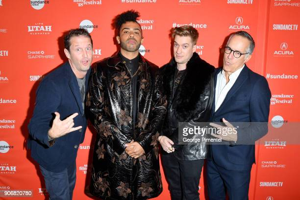 Film Festival Director of Programming Trevor Groth Actors Daveed Diggs and Rafael Casal and Sundance Film Festival Director John Cooper attend the...
