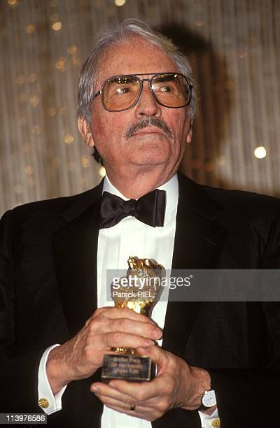 Film festival in Berlin with Golden Bear award In Berlin Germany On February 22 1993Gregory Peck with special Golden Bear for his career