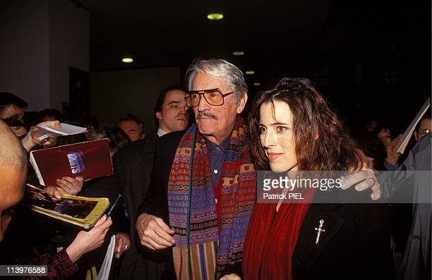 Film festival in Berlin with Golden Bear award In Berlin Germany On February 22 1993Gregory Peck and daughter Cecilia