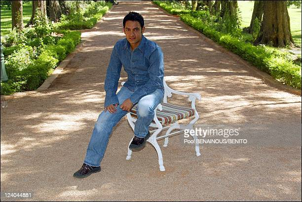 Film festival In Marrakech Morocco On September 21 2002 Indian Director Aamir Khan