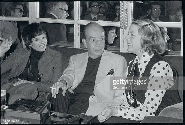 Liza Minnelli her father Vincente Minnelli and Ingrid Bergman make some reel news in Rome recently They hold a press conference to announce plans for...
