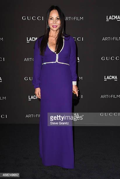 Film Gala CoChair LACMA Trustee Eva Chow attends the 2014 LACMA Art Film Gala honoring Barbara Kruger and Quentin Tarantino at LACMA on November 1...